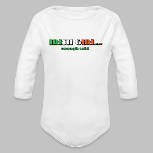 Irish Girl - Long Sleeve Baby Bodysuit