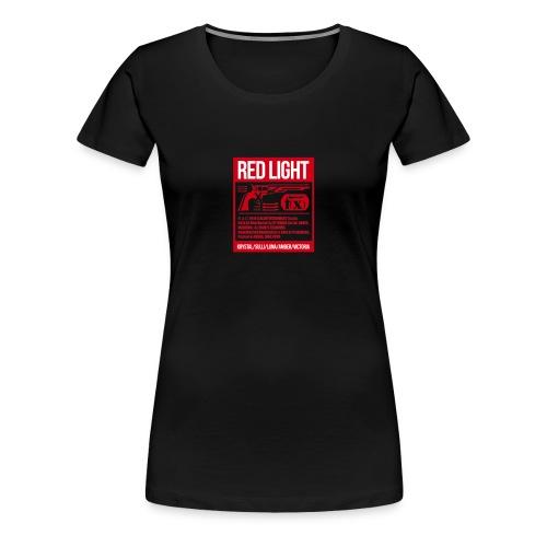 f(x) red light - Women's Premium T-Shirt