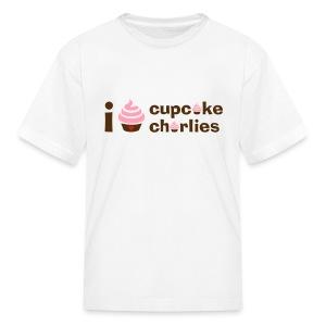 Love Cupcake Charlie's Kids Tee  - Kids' T-Shirt