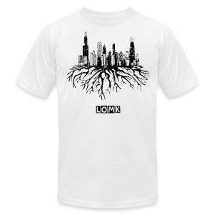Chi town - Men's T-Shirt by American Apparel