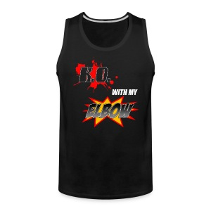 KO With My Elbow - Men's Premium Tank