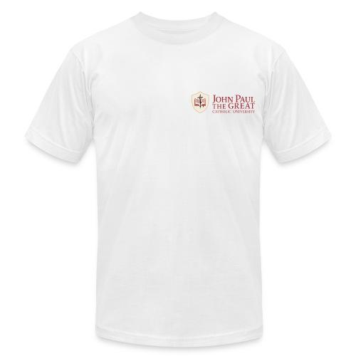 JPCatholic T-shirt (white) - Men's  Jersey T-Shirt
