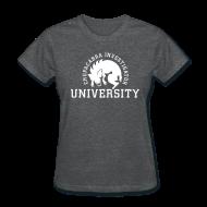 T-Shirts ~ Women's T-Shirt ~ Chupacabra Investigator University Shirt