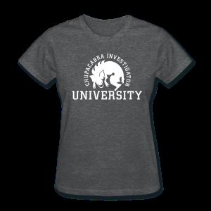 Chupacabra Investigator University Shirt - Women's T-Shirt