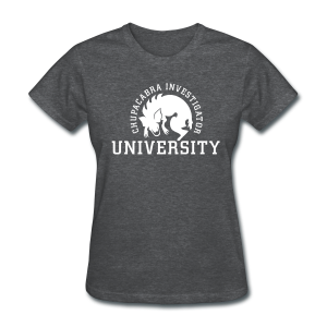 Chupacabra Investigator University Shirt - Women's T-Shirt