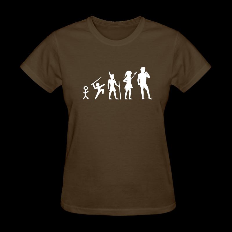 The Evolution of Art Shirt - Copyright K. Loraine - Women's T-Shirt