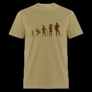 T-Shirts ~ Men's T-Shirt ~ The Evolution of Art Shirt - Copyright K. Loraine