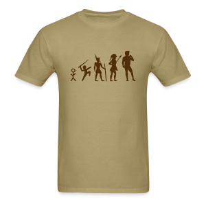 The Evolution of Art Shirt - Copyright K. Loraine - Men's T-Shirt