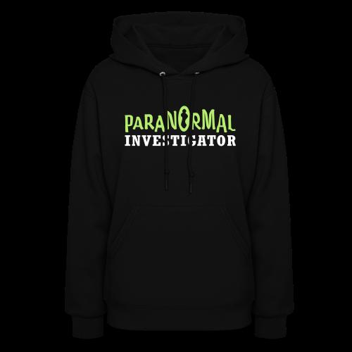 Paranormal Investigator Shirt - Women's Hoodie