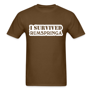 I Survived Amish Rumspringa Shirt - Men's T-Shirt