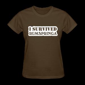 I Survived Amish Rumspringa Shirt - Women's T-Shirt
