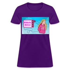 DiabeticDanica Logo Women's T-shirt  - Women's T-Shirt