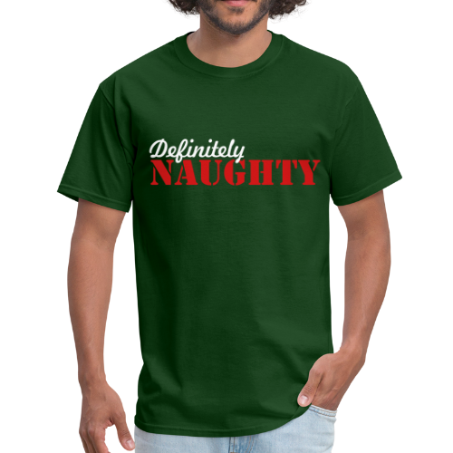 Definitely Naughty Christmas  Shirt - Men's T-Shirt