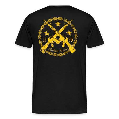 Molon Labe / Awake. - Men's Premium T-Shirt