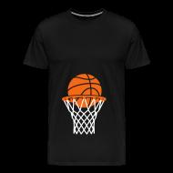 T-Shirts ~ Men's Premium T-Shirt ~ Maternity Basketball (non maternity shirt)