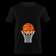 T-Shirts ~ Men's T-Shirt ~ Maternity Basketball (non maternity shirt)