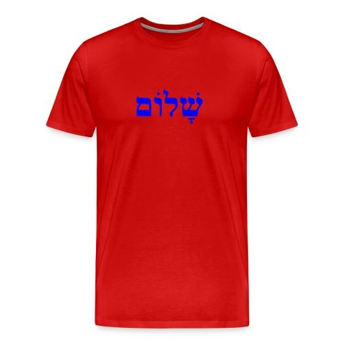 Shalom Men's Premium T-Shirt - Men's Premium T-Shirt