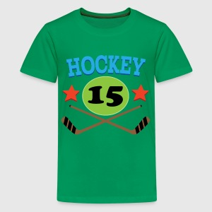Hockey Personalized Gift Kids' Shirts - Kids' Premium T-Shirt