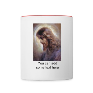 Jesus Portrait Coffee Mug - Contrast Coffee Mug