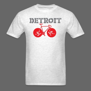 Bike Detroit  - Men's T-Shirt