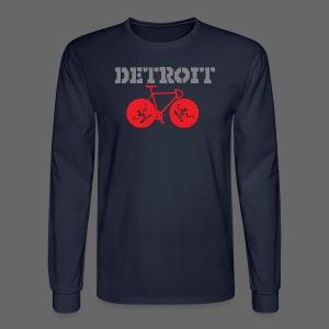 Bike Detroit  - Men's Long Sleeve T-Shirt