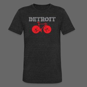 Bike Detroit  - Unisex Tri-Blend T-Shirt