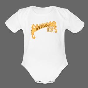 313th Birthday - Short Sleeve Baby Bodysuit