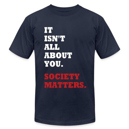 Society Matters. - Men's Fine Jersey T-Shirt