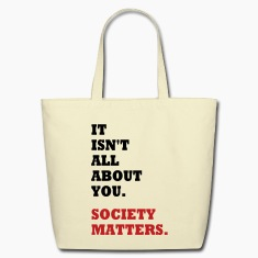 Society Matters. Bags & backpacks