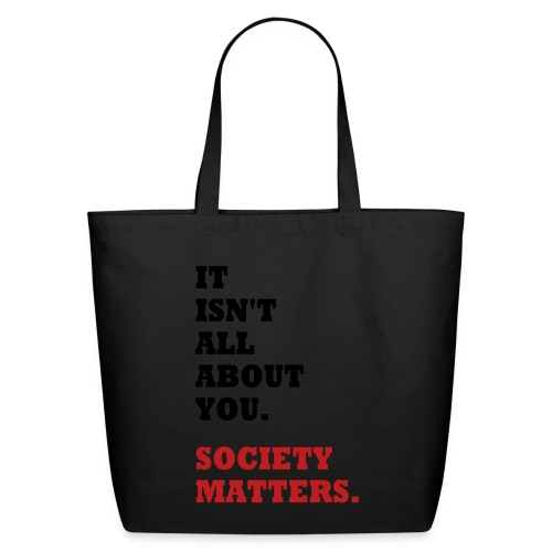 Society Matters - Eco-Friendly Cotton Tote