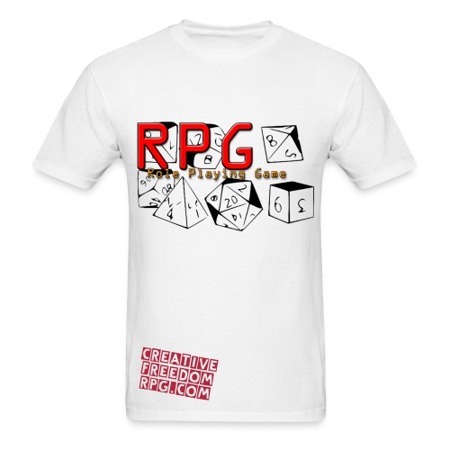 RPG Dice: It's Your Roll! - Men's T-Shirt