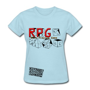RPG Dice: It's Your Roll! - Women's T-Shirt
