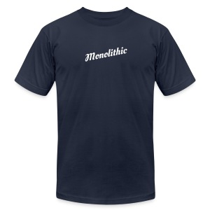 Monolithic - Men's T-Shirt by American Apparel