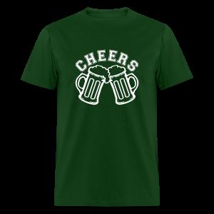 Cheer St. Patrick's Day Shirt - Men's T-Shirt