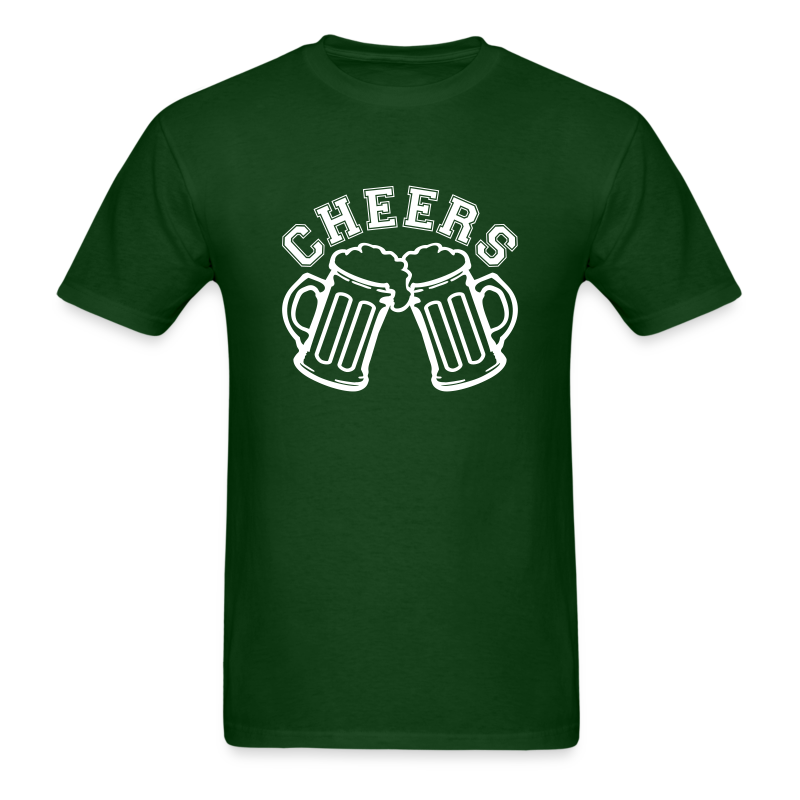 Cheer St. Patrick's Day Shirt - Men's T-Shirt