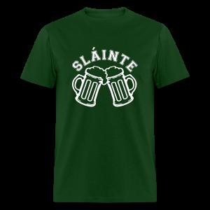 Cheers / Slainte St. Patrick's Day Shirt - Men's T-Shirt