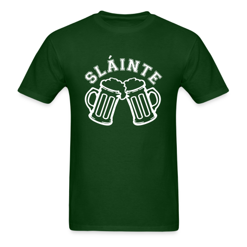 Cheers / Slainte St. Patrick's Day Shirt - Men's T-Shirt