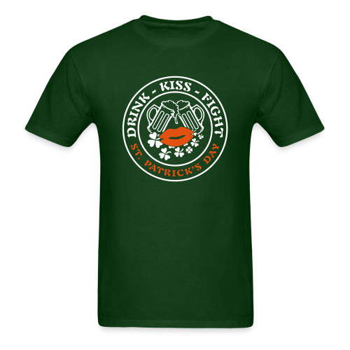 Plans for St. Patrick's Day Shirt - Men's T-Shirt
