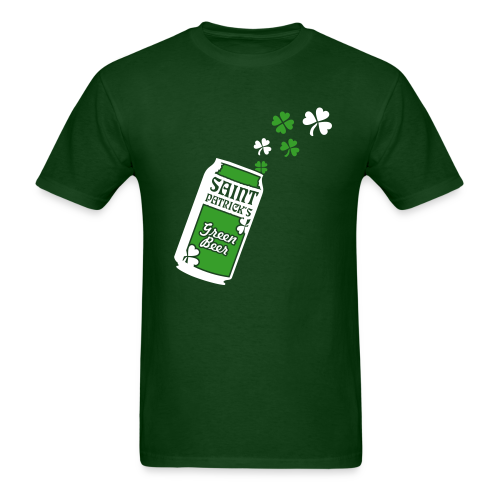 Green Beer St. Patrick's Day Shirt - Men's T-Shirt