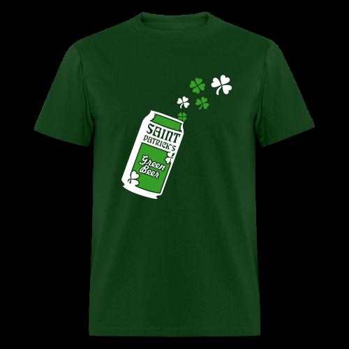 Green Beer St. Patrick's Day Shirt - Men's T-Shirt