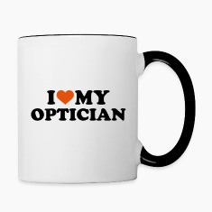 I love my Optician Bottles & Mugs