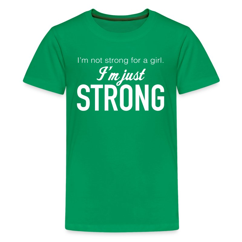 Strong Premium Kid's T-Shirt - Kids' Premium T-Shirt