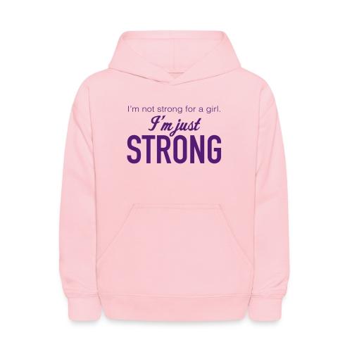 Strong Kids' Hooded Sweatshirt - Kids' Hoodie
