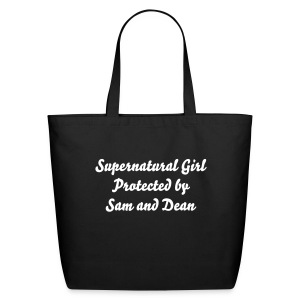 Supernatural Girl - Eco-Friendly Cotton Tote