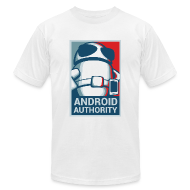 T-Shirts ~ Men's T-Shirt by American Apparel ~ Android Authority for President