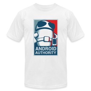 Android Authority for President (Men's T-Shirt by American Apparel) - Men's Fine Jersey T-Shirt