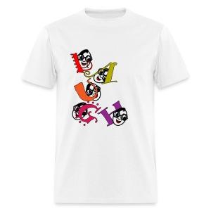 laughter - Men's T-Shirt