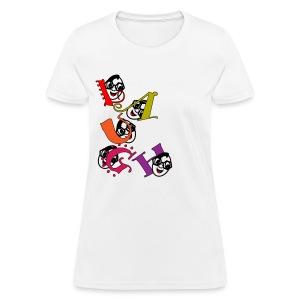 laughter - Women's T-Shirt