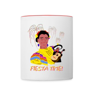 Fiesta Time Coffee Mug - Contrast Coffee Mug