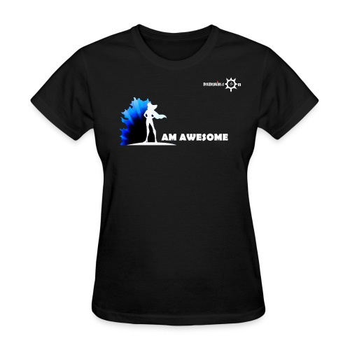 I AM AWESOME FM BLK - Women's T-Shirt
